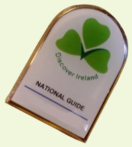 Carrig Coaches Bord Failte Badge