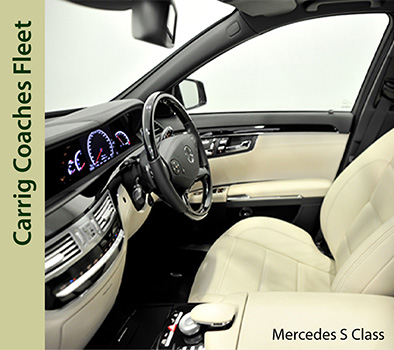 Carrig Coaches Mercedes S Class