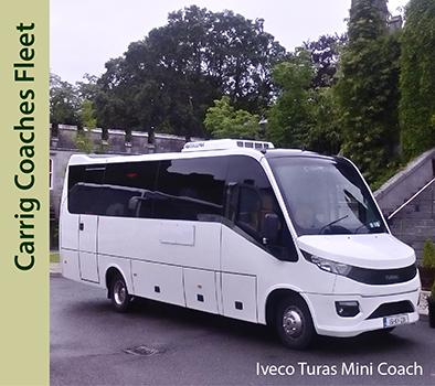 Carrig Coaches Mini Coach Hire